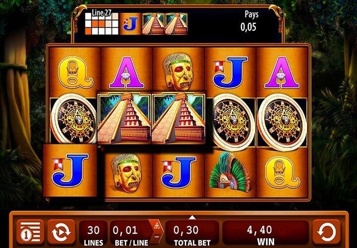 Montezuma fra WMS er et meget populært gratis spin-spil blandt danske spillere.