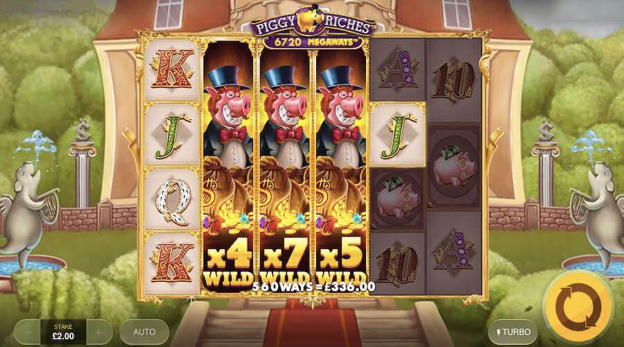 piggy riches slot gameplay
