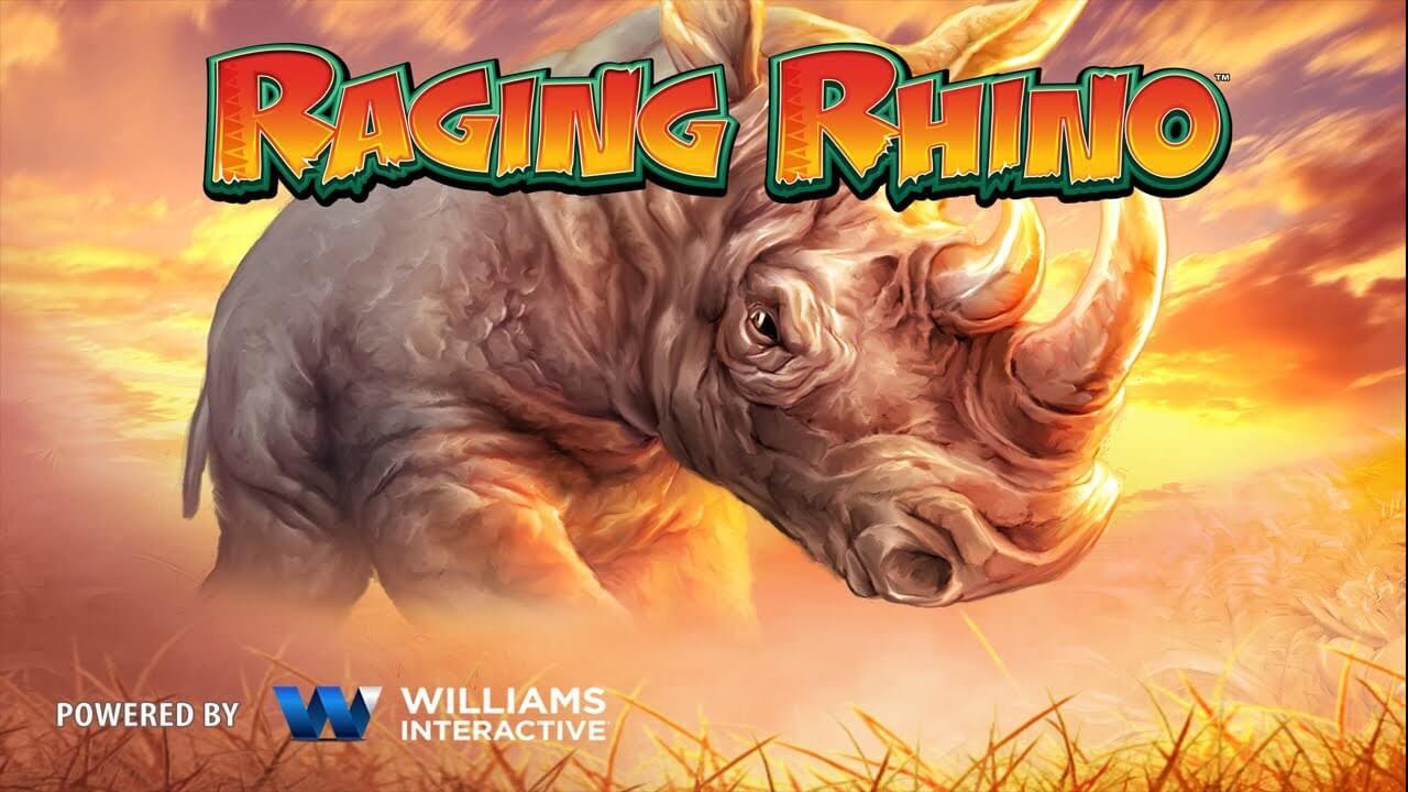 Raging Rhino af WMS er en meget populær high roller slot på grund af alle sine gratis spins og høj volatilitet.