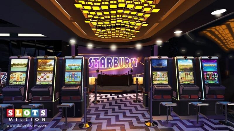 VR Starburst fra Slotsmillion i 2014.