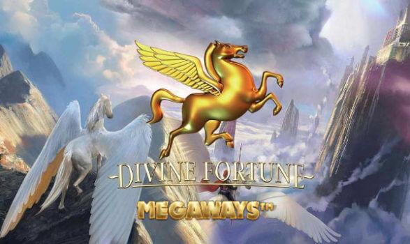 divine fortune megaways slot cover
