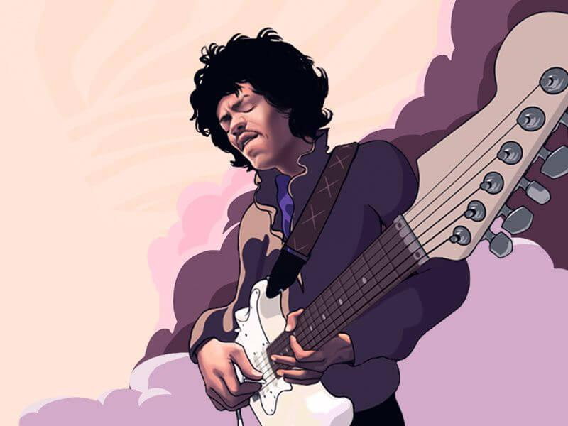Jimi hendrix slot review with free spins and game statergies