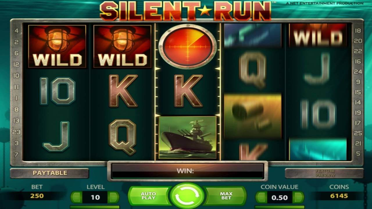 silent run slot by netent gameplay
