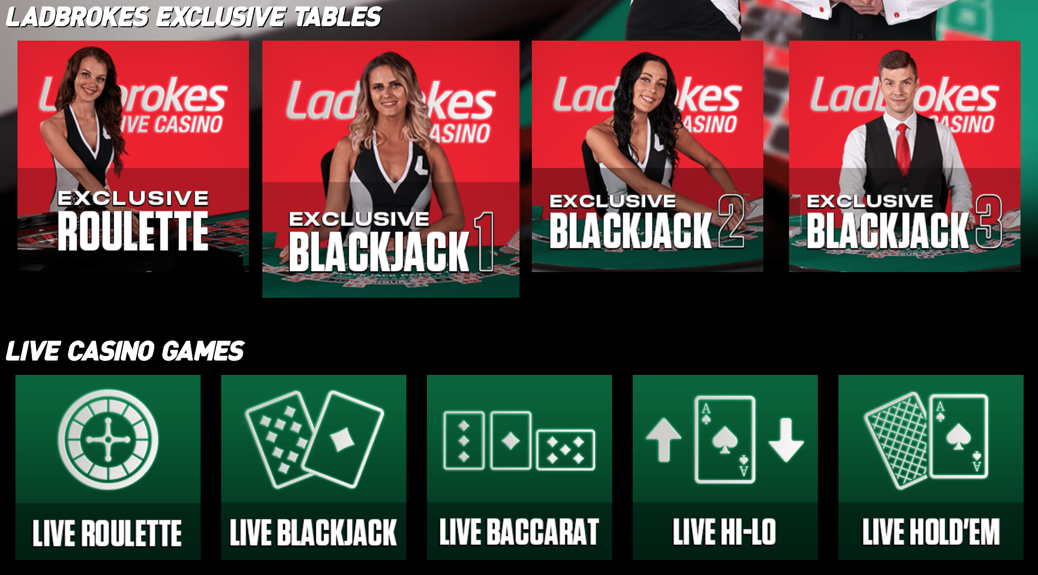 Ladbrokes live blackjack review