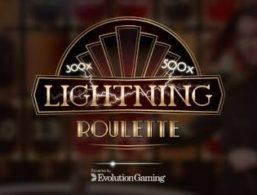 Evolution Gaming – Lightning Roulette