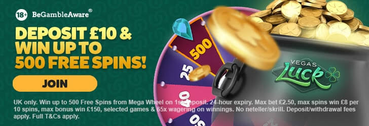 Vegas luck casino welcome bonus
