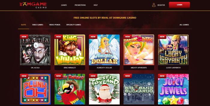 domgame casino slots